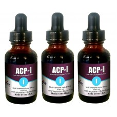 ACP-I Nano Ionic Multi Minerals and Vitamins Supplement for all ages(1, 60 ml) (Click here for DETAILS)