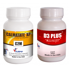 Bone Combo Pack-Vitamin D3 Plus & Calmatate XP (2x60ct ) (Click here for DETAILS)