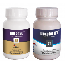 Combo-D- Gastroesophageal & Detoxification Health Pack(Capsule 60ct x2) (Click here for DETAILS)