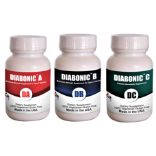 Diabonic ABC-Diabetes complete protocol (Capsule, 3 Bottles of 60 ct ) (Click here for DETAILS)