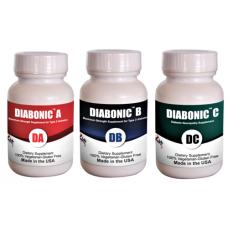 Diabonic ABC-Diabetes complete protocol (Capsule, 3 Bottles of 60 ct ) (Click here for DETAILS)
