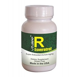 Fountain of Youth and Longevity- Resveratrol (200 mg Capsule 60ct) (Click here for DETAILS)