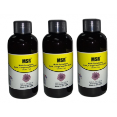MSR Economy Pack-Cold, Flu,Throat Infection Rapid Relief (3 Bottles 120 ml) (Click here for DETAILS)
