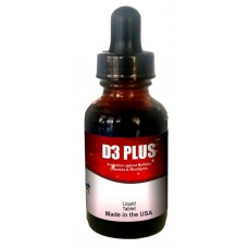 Vitamin D3+ MK-7 Required for Calcium and Phosphorus absorption (1,60 ml bottle) (Click here for DETAILS)