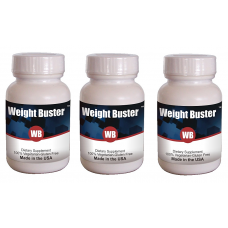 Weight Buster Anti Obesity & Weight Loss Protocol 3 Bottles- (Capsule 60X3) (Click here for DETAILS)